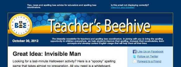 Teacher's Beehive